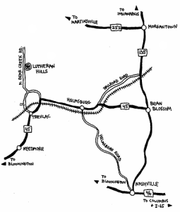 Lutheran_Hills_Directions_Map