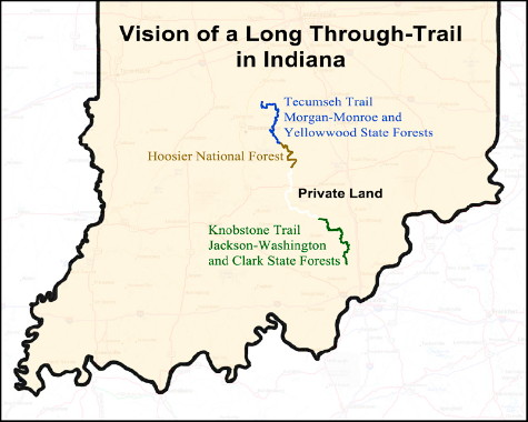 140 Mile Trail Vision Map