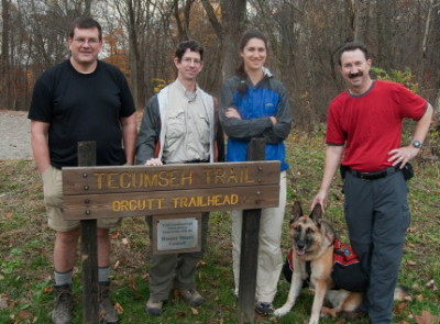 In 2009 several members of HHC backpacked 140 across southern Indiana