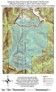 2017 Tecumseh Backcountry TrailReroute