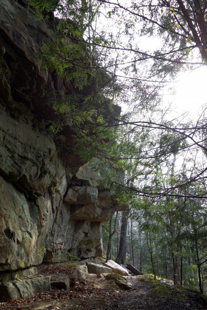Bluff Wall