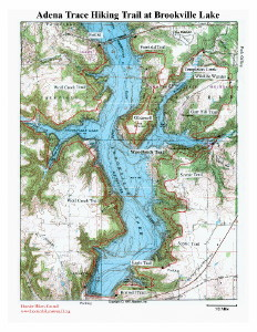 Adena Map for Sale