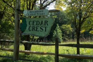 Cedar Crest Sign