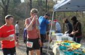 Tecumseh Trail Marathon Aid Station