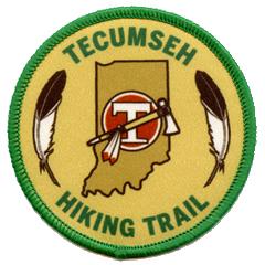 Tecumseh Trail Patch