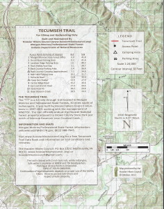 Tecumseh Trail Map