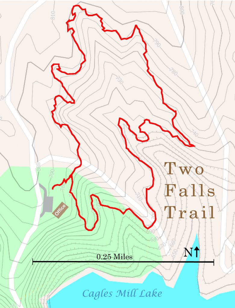 Two Falls Map